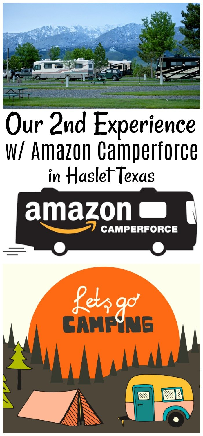 This was our 2nd year doing Amazon Camperforce, in a new location. See as we compare and contrast previous year and why we will NOT go back to Haslet.