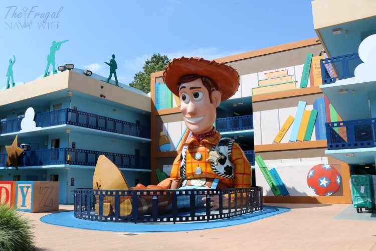 Disney All Star Movie Resort The Frugal Navy Wife