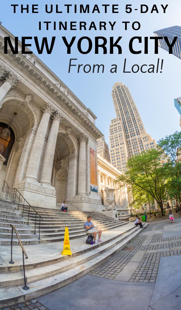 New York City Museum Steps