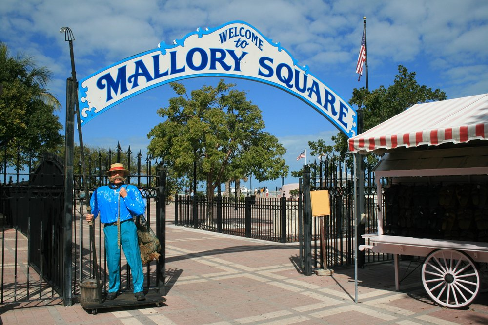 Mallory Square in Key West
