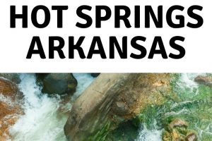 15 free things to do in Hot Springs AR.