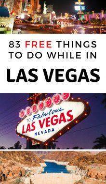 83 Free Things to do in Las Vegas NV