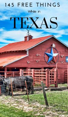 Did you know that there are a ton of free things to do in Texas, it's just a matter of finding those free things. When you're traveling, finding the free stuff is always the best. #texas #thingstodo #freetravel #travel #ourroaminghearts | Texas | Free Things To Do | Frugal Travel |