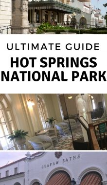 Hot Springs National Park Arkansas is a great place to visit with the whole family. You will get the most out of your time at this National Park by knowing exactly what to do! Here is the only Hot Springs National Park Guide you'll ever need. #hotspringsnationalpark #arkansas #ourroaminghearts | Hot Spirngs National Park | Arkansas Travel | Travel | Bucket List