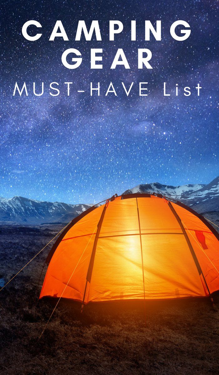 You can't camp without the proper gear. You need some items to help you have a decent experience. Here is some must-have camping gear. #camping #campinggear #ourroaminghearts | Must Have Camping Items | Camping | Travel | Bucket List