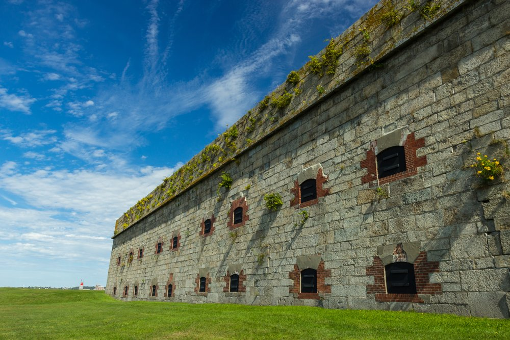 Fort Adams in Newport, Rhode Island