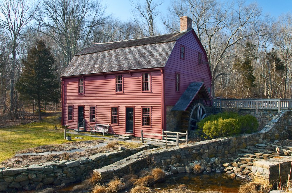 The historical site of Gilbert Stuarts Home and Snuff Mill