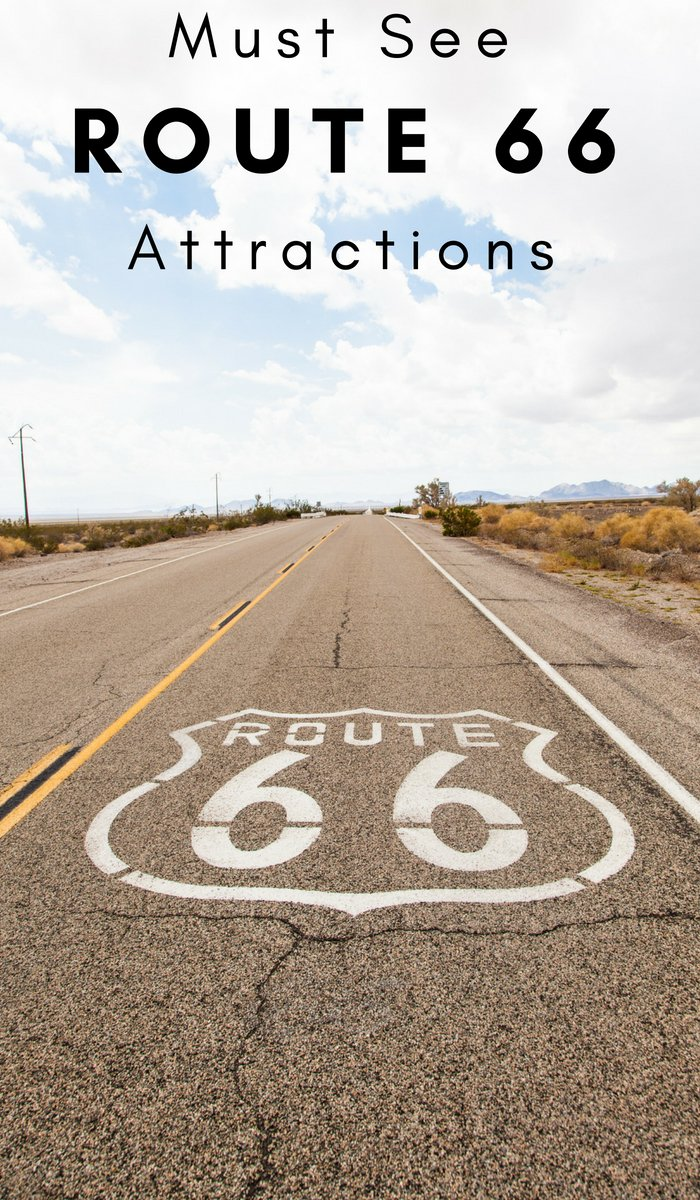Heading on Route 66 is a dream of many travelers. If you are planning a trip to get your kicks on Route 66 here are 30 Must Stop at Route 66 Attractions. #route66 #roadtrip #route55attractions | Roadtrip Ideas | Route 66 Travel | Attractions on Route 66