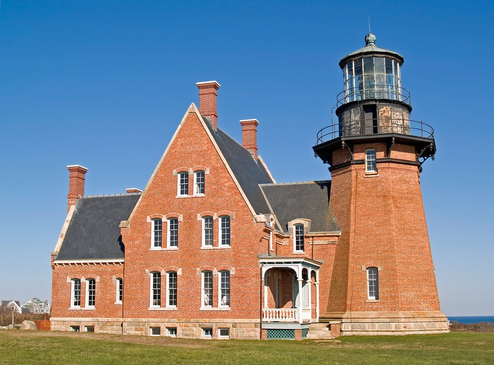 Historic Southeast Lighthouse on Block Island, Rhode Island
