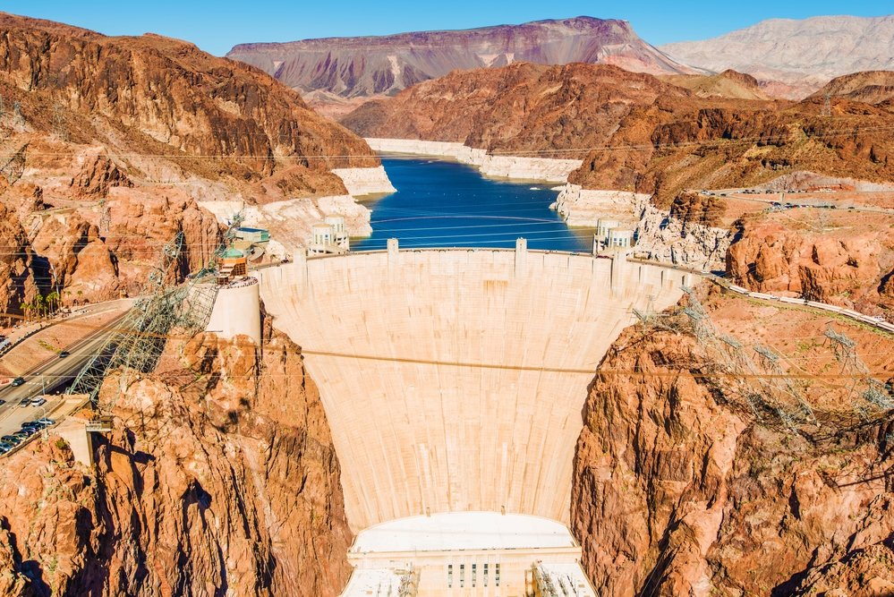 Hoover Dam at Lake Mead, Nevada