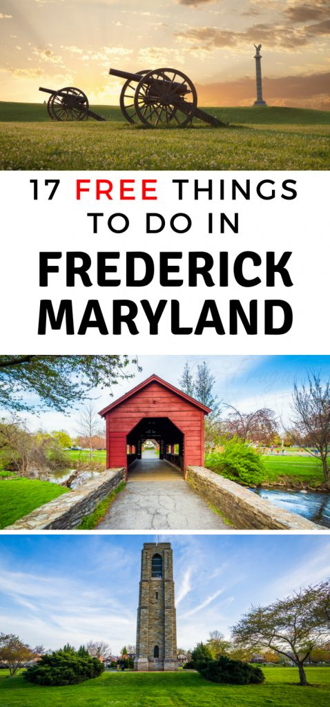 I love that there are a number of free things to do in Frederick MD. This town has always been an important and very historical part of history. #frederick #maryland #travel #frugaltravel #history #frugalnavywife | History Lessons | Homeschool Field Trips | Frugal Travel | Maryland | Bucket List