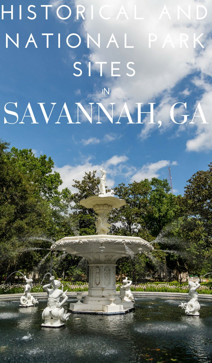 Savannah is history packed. National Park Sites, enslaved homes and so many more. Here are the must-see Savannah Historical Sites. #savannah #georgia #history #nationalparks #historicsite #frugalnavywife | Travel Savannah | Georgia Travel | Places to see in Savannah | National Parks in Georgia | Historical Sites in Savannah