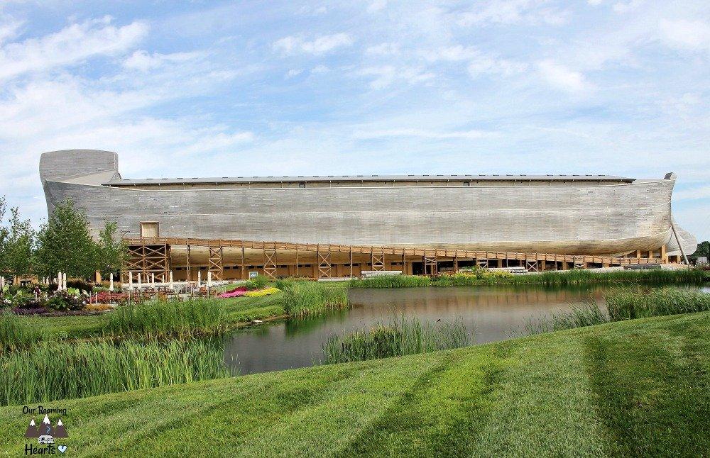 A Day at Noah's Ark Encounter Kentucky The Ark