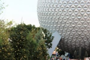 Disney in the month of December when the Disney World Christmas Decorations are all up and you're feeling in the holiday spirit is magical. #disney #christmas #floridatravel #chrsitmasdecorations #frugalnavywife | Disney World At Christmas | Disney World | Florida Travel | Christmas in Florida