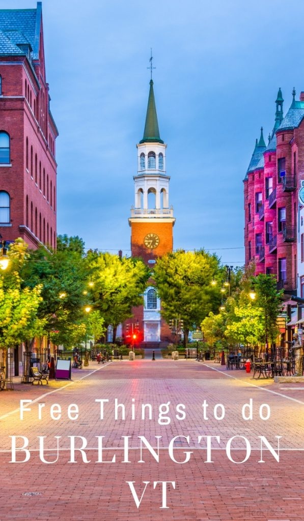 Burlington has tons of public parks and beautiful locations for hiking and sightseeing. Check out these free things to do in Burlington VT. #ourroaminghearts #burlingtonvt #vermont #freethingstodo | Burlington VT | Free things to do in Burlington | Travel Vermont