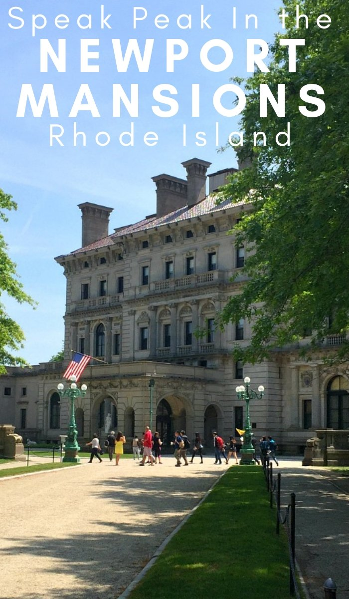 These Newport Mansions in Rhode Island, have so much history that they're well worth checking out. Here is a sneak peak inside. #newportmansions #rhodeisland #travel #placestosee #frugalnavywife | Rhode Island Travel | Newport Mansions | Travel | Things to do in Rhode Island