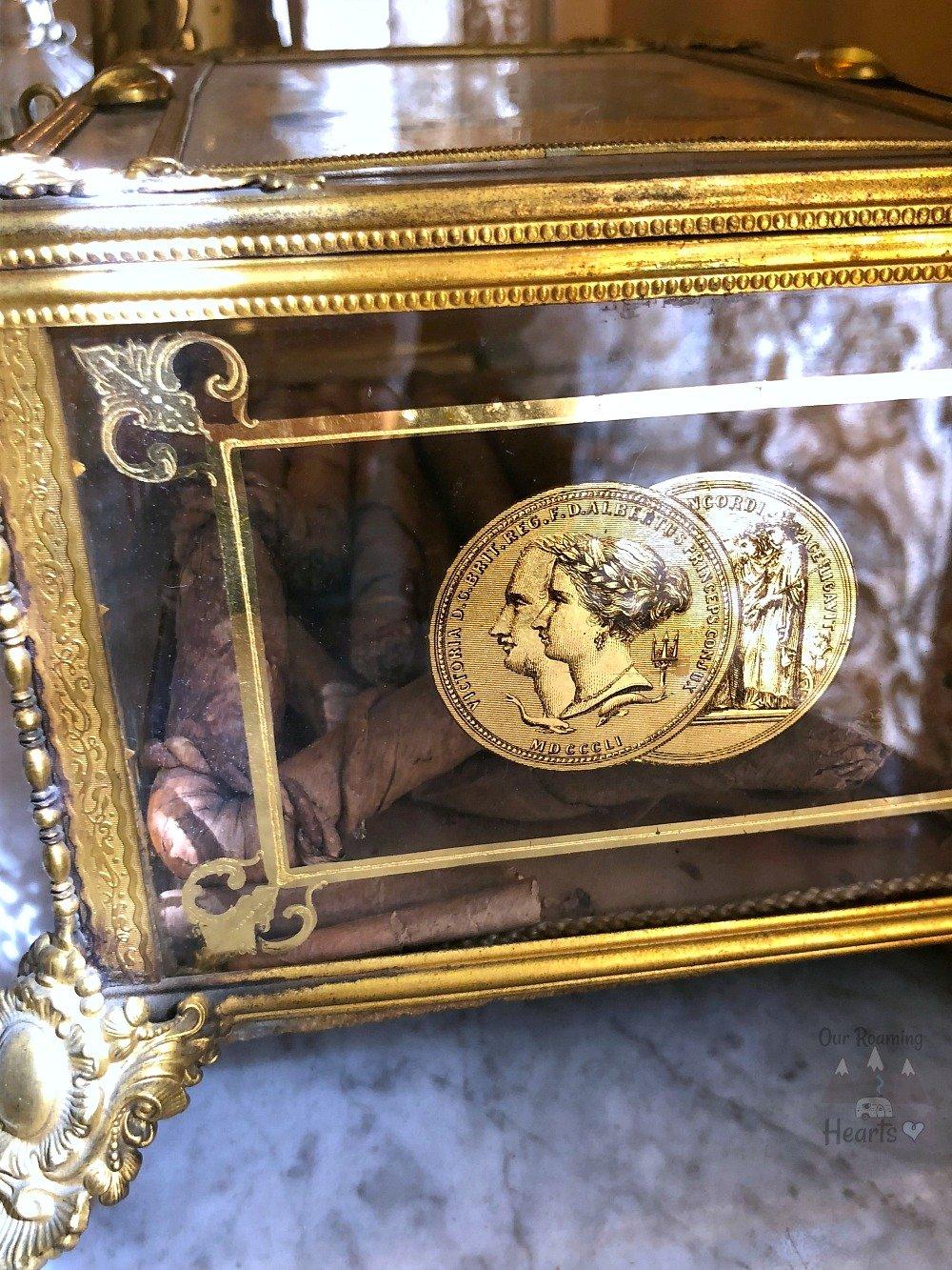Seward hosue Museum Cigar Box