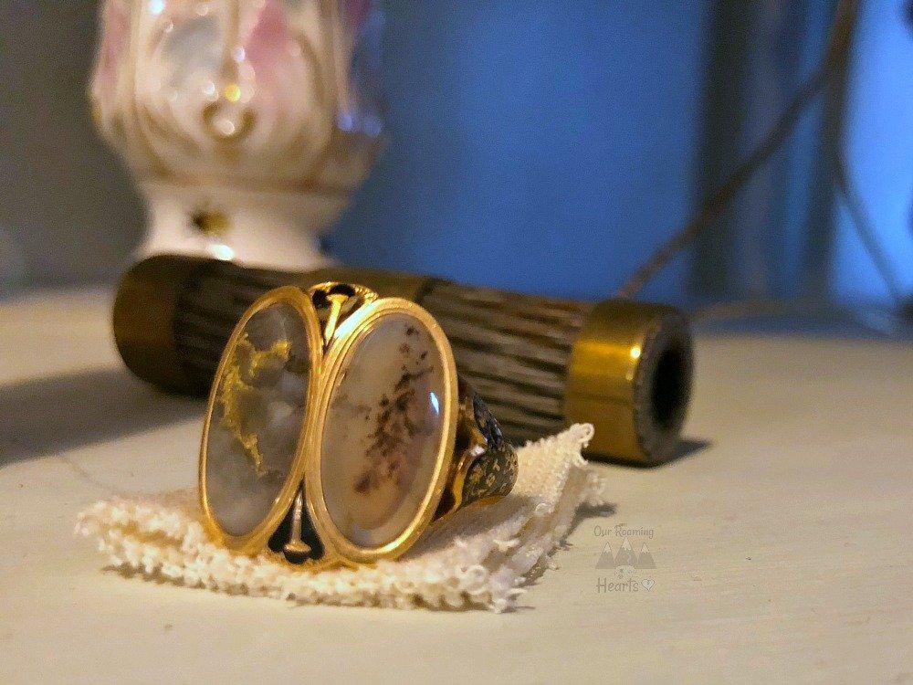 William Seward House Gold Ring
