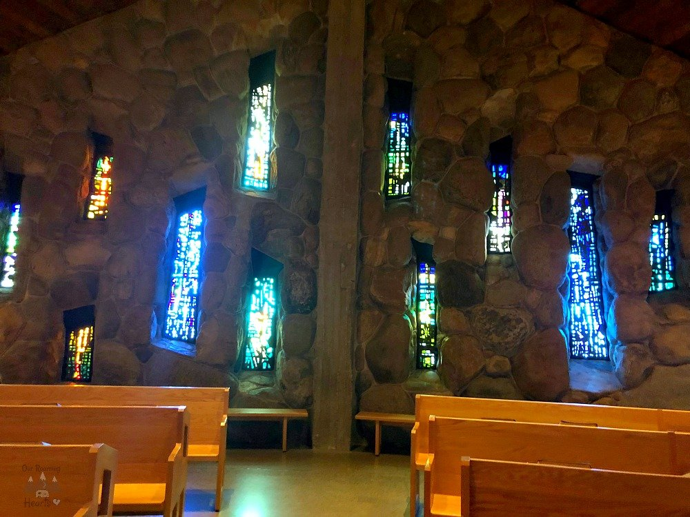 The Abbey of Genesee - Chapel Stained Glass