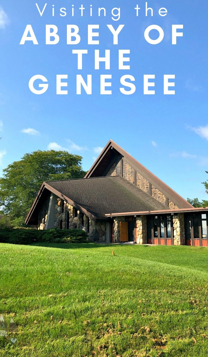 The Abbey of the Genesee is right in our backyard but makes you feel like you stepped into a whole new world. Put this stop on your must-see list. #newyork #abbyofthegenesee #travel #placestosee #ourroamighearts | Places to see | Places to Visit | New York Travel | Abbey of the Genesee