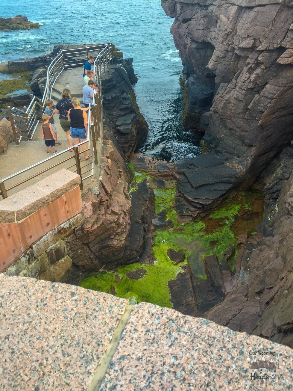 Acadia National Park Things to do Thunder Hole