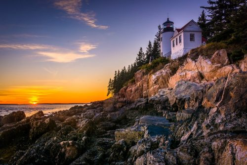 Mount Desert Island Bass Harbor Lighthouse