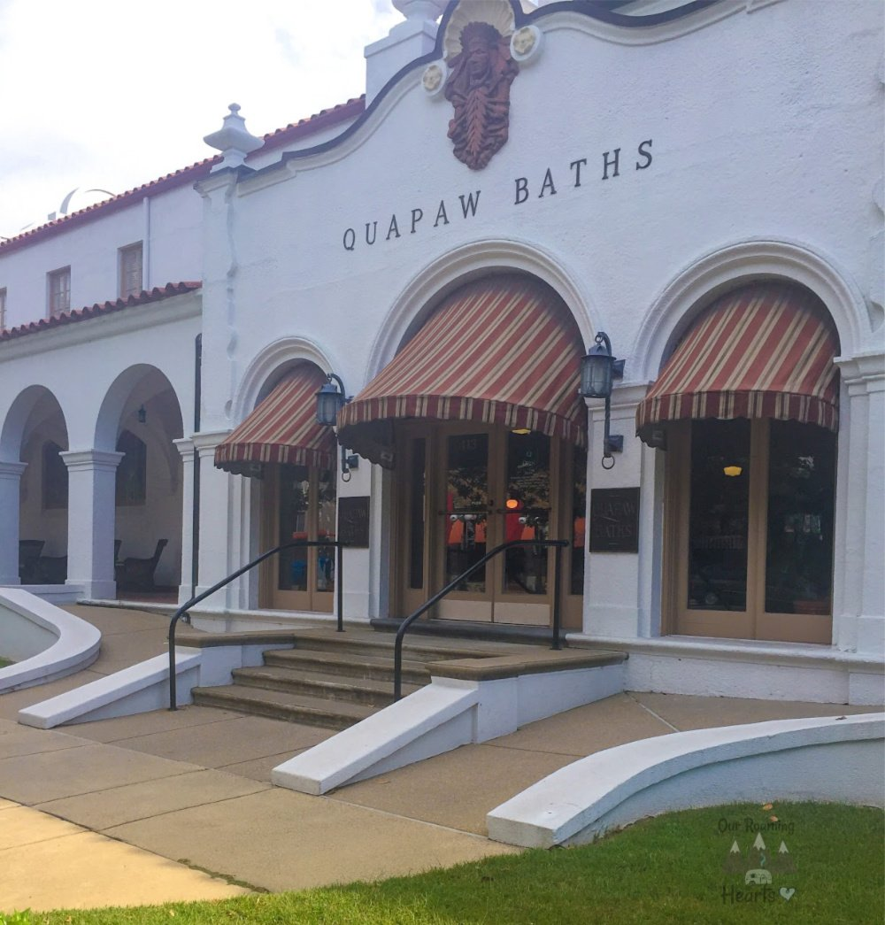 Hot Springs National Park Quapaw Bath House