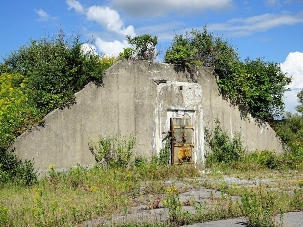Seneca Army Depot Bomb Igloo