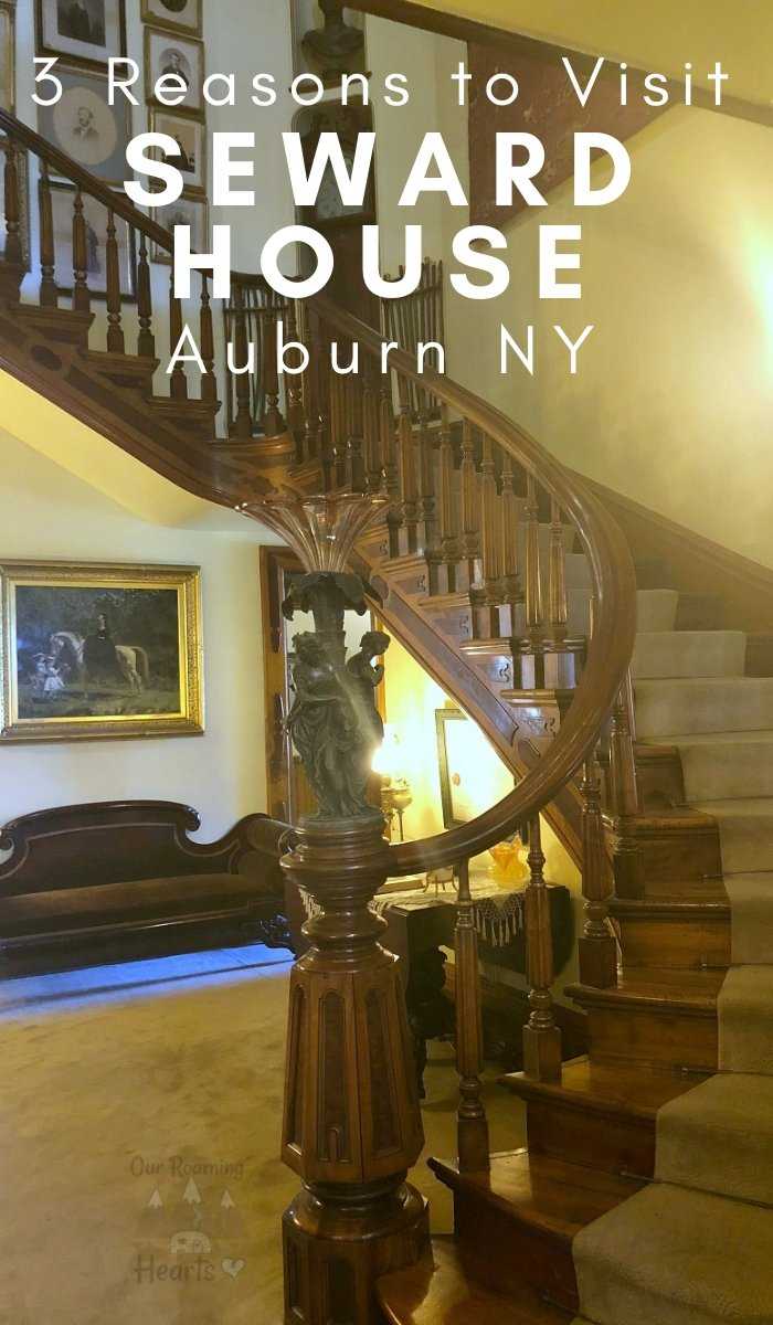 The Seward House is one of the most magnificent museums that you could visit. Here are 3 reasons to visit the Seward House. #sewardhouse #auburn #newyork #ourroaminghearts #homeschool #history | Auburn NY | Seward House | Homeschool History | Historic Site | New York