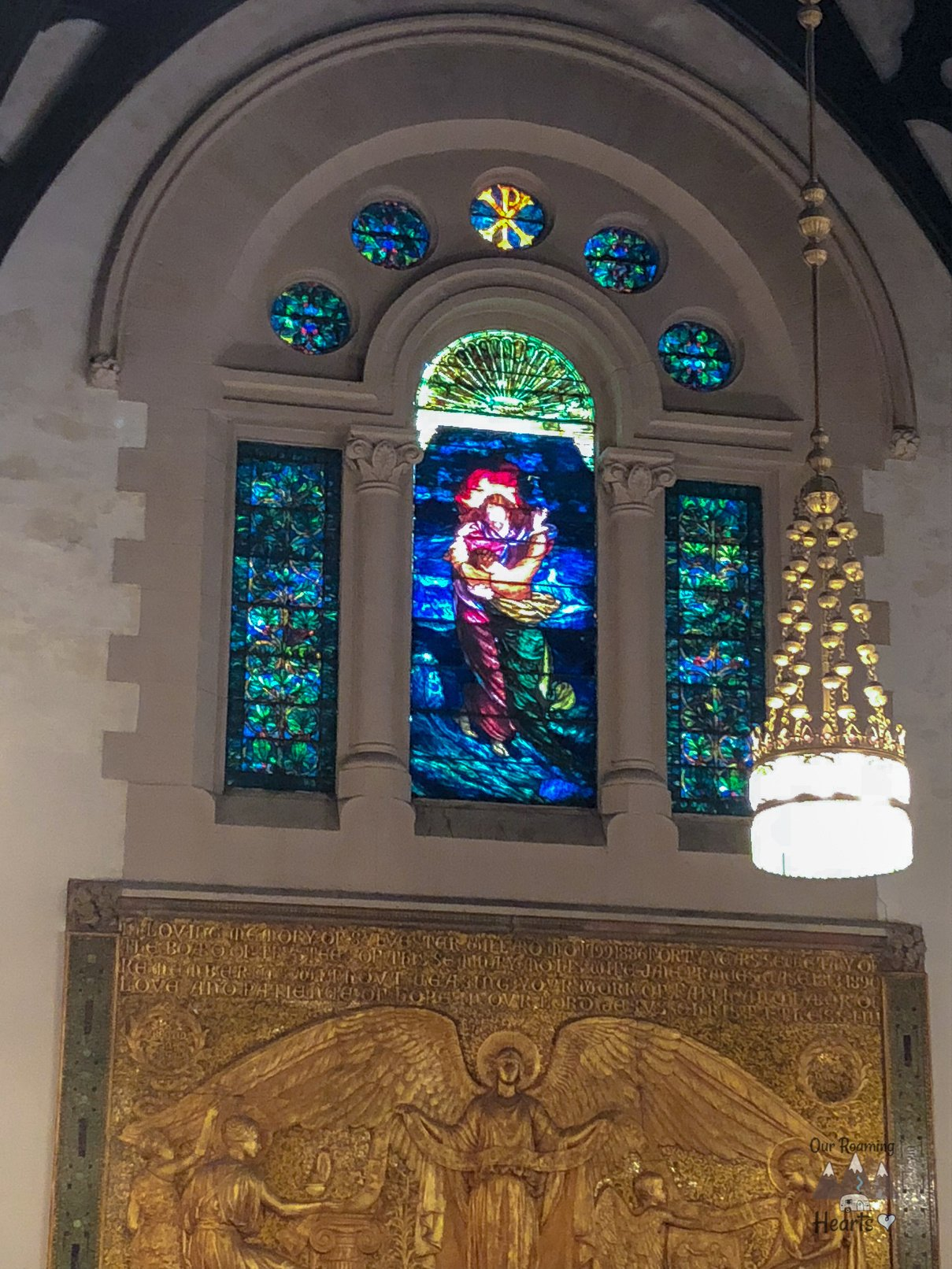 Willard Chapel in Auburn NY - The Tiffany Chapel