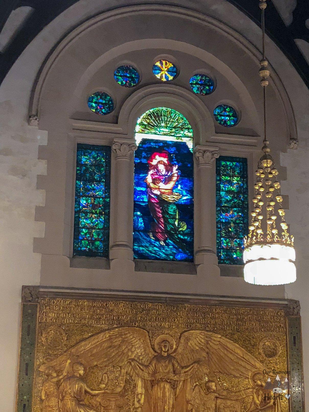 Willard Memorial Chapel - The Tiffany Chapel
