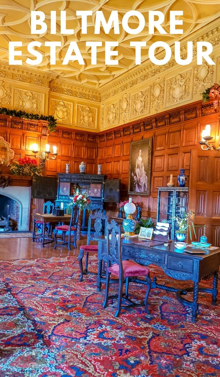 George and Edith Vanderbilt built the Biltmore House over a century ago. Today, take a self-guided tour. Follow along in these Biltmore Estate Pictures. #biltmoreestate #biltmorehouse #northcarolina #asheville #ourroaminghearts | North Carolina Travel | Biltmore Estate | Biltmore House | Things to see in North Carolina