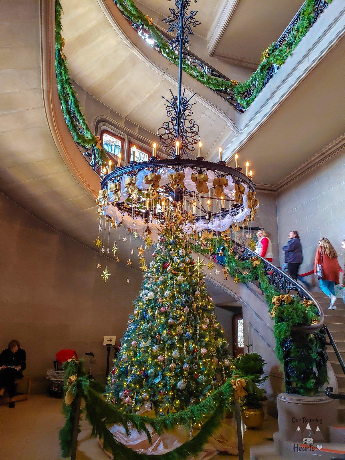 Biltmore House Tour + Biltmore Estate Grand Staircase