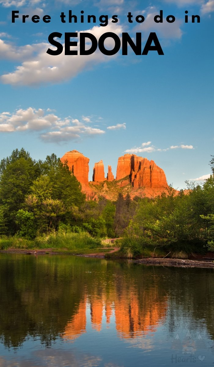 Making memories and exploring is easy with this list of Free Things to do in Sedona Arizona. Enjoy your visit without breaking the bank! #sedona #arizona #freethingstodo #ourroaminghearts | Free Things To Do | Arizona Travel | Sedona | Frugal Travel