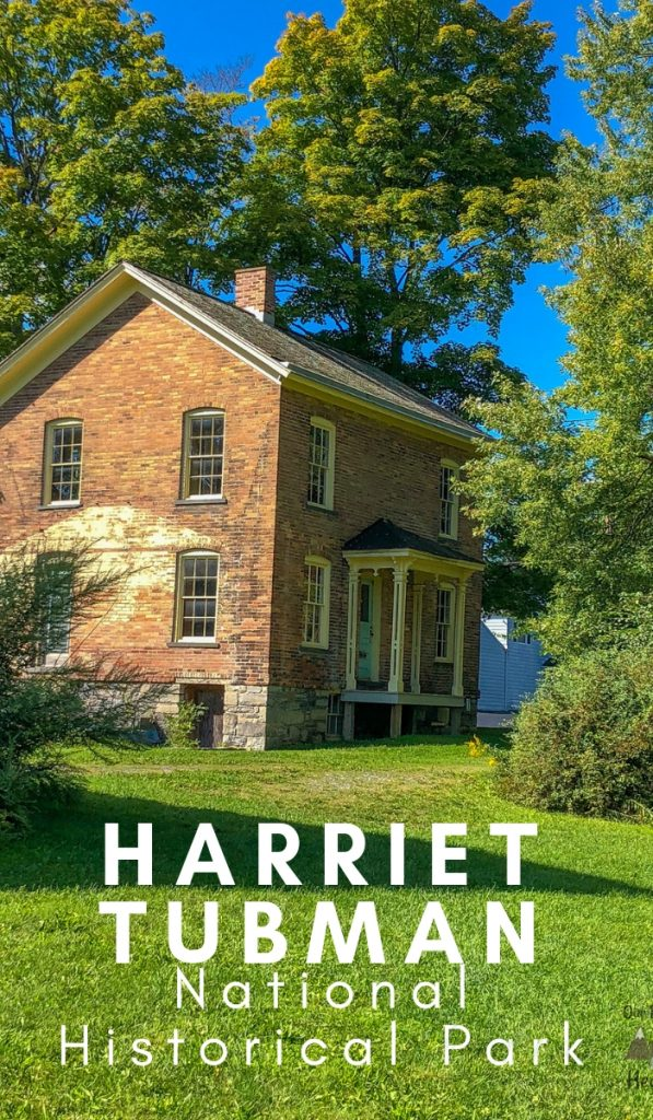 Harriet Tubman is an important historical figure on many levels. Visit the Harriet Tubman National Historical Park to learn more. #harrierttubman #nationalpark #historicalsite #ourroaminghearts #undergroundrailroad | National Parks | New York | Harriet Tubman | Learning about the Underground Railroad | Historical Site