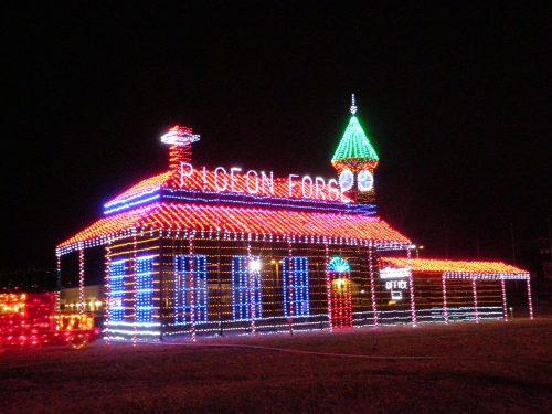 Pigeon Forge Christmas Lights