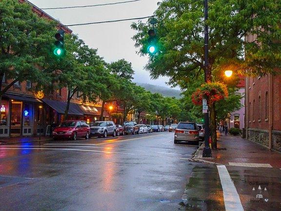 Downtown Corning NY