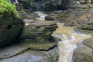 Watkins Glen State Park New York is rated as one of the best in the country. Come view this exceptional hike through multiple photos here. #hiking #stateparks #newyork #ourroaminghearts #watkinsglennstatepark | New York State Parks | New York Hiking | Watkins Glen State Park