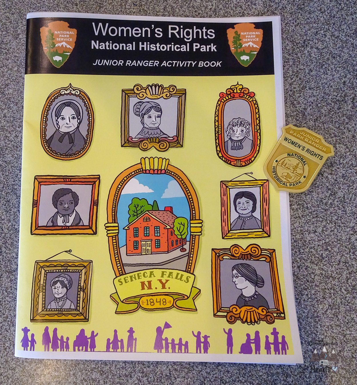 Women's Rights National Historical Park Seneca Falls NY Junior Ranger