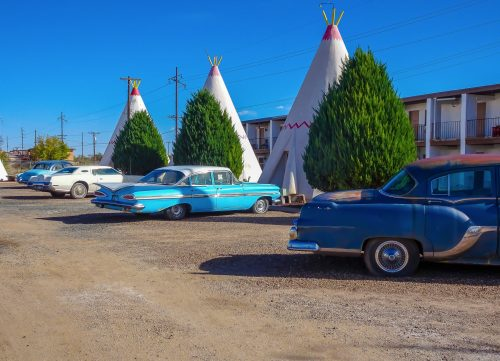 Wingwam Motel in Holbrook AZ, Route 66 Calendar