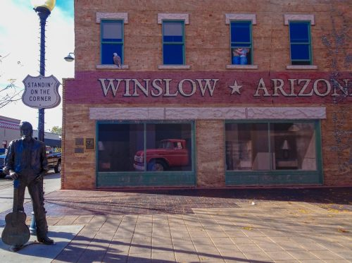 Standin On The Corner Winslow Arizona - Route 66 Calendar
