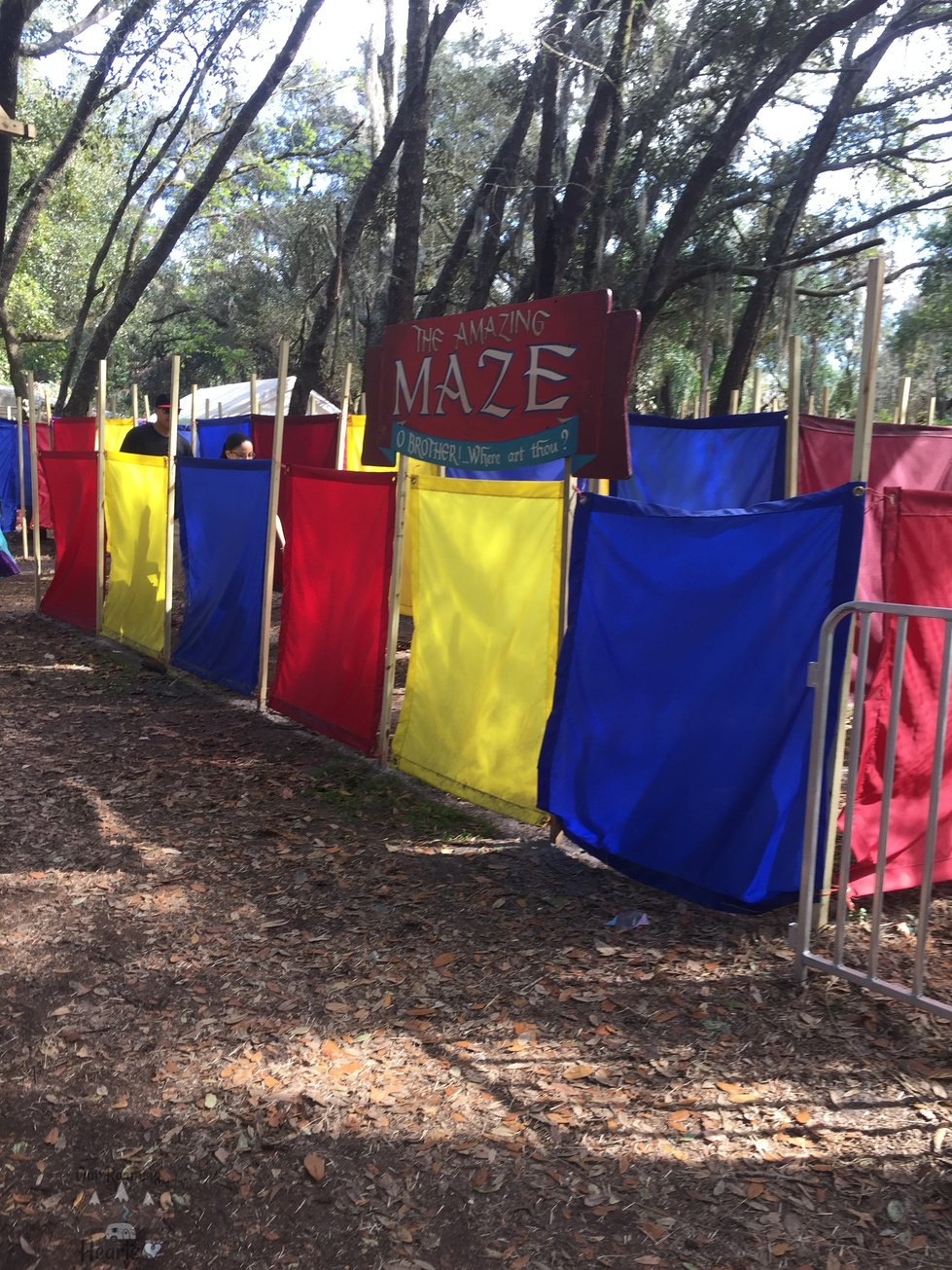 Ultimate Guide to the Bay Area Renaissance Festival Maze