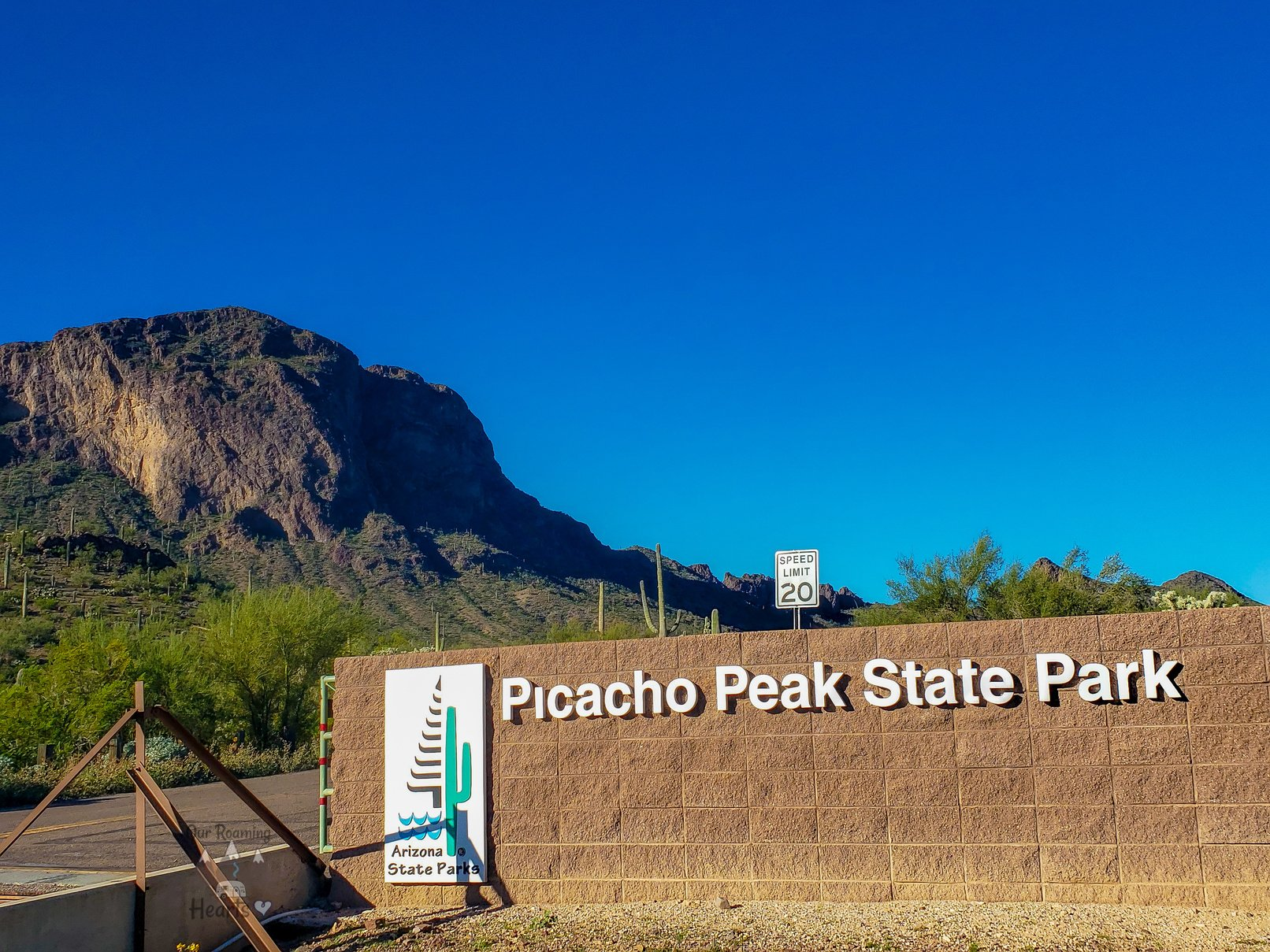 Picacho Peack Arizona State Park