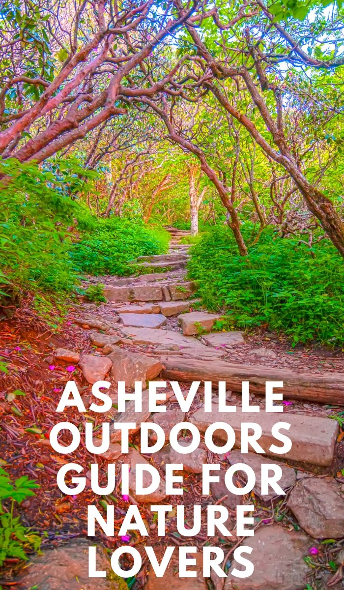 If you are a nature lover you will love Asheville, NC. Majestic waterfalls, picturesque valleys, and lush forests. Use this Asheville outdoors guide. #asheville #northcarolina #nature #outdoors | North Carolina Nature Guide | Asheville Guide | Nature Lover Guide for Asheville |