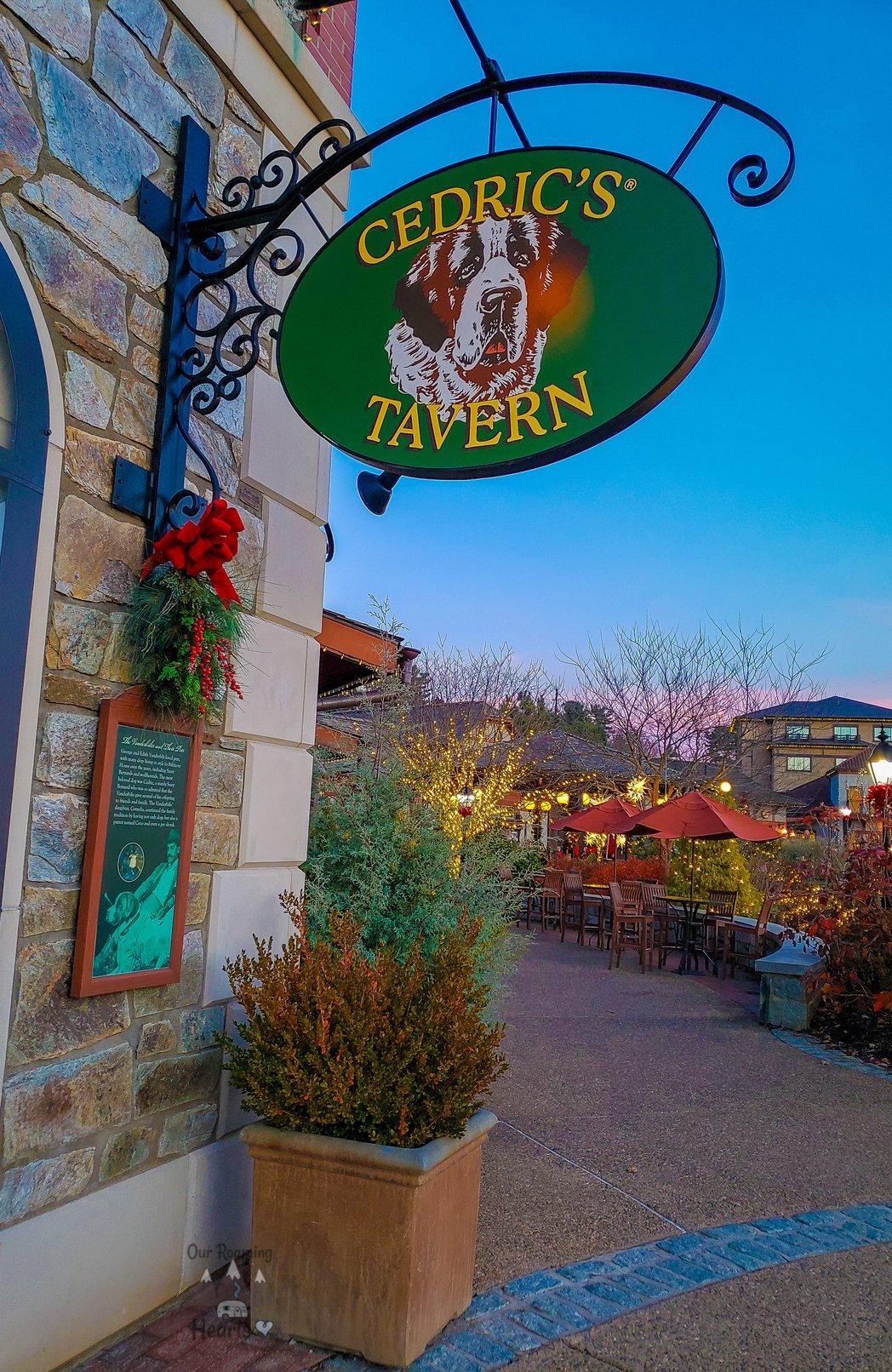 Cedric's Tavern - Biltmore - Ashville NC
