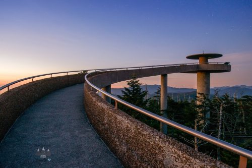 Clingman's Dome in the Smoky Mountains
