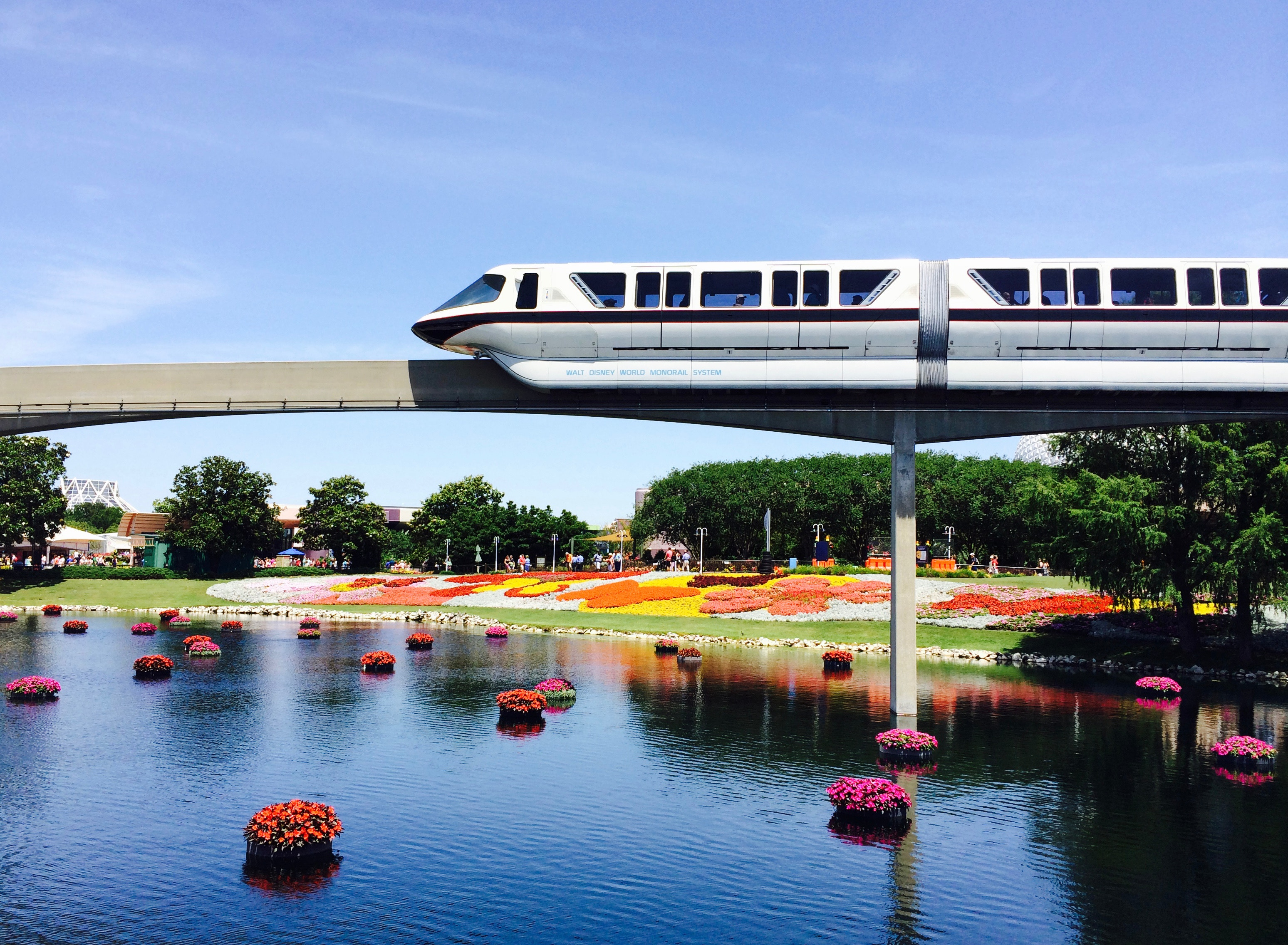 Ride the Disney Monorail free