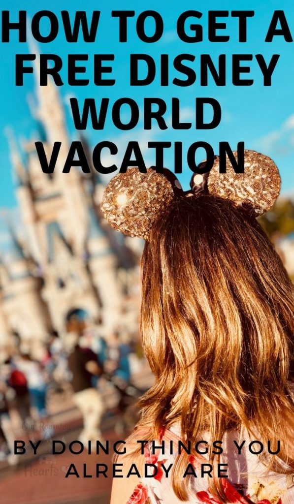 It may seem impossible to visit Disney for free, it isn't as hard as you might think! Here are top ways to get a free Disney World Vacation. #disney #frugaltravel #ourroaminghearts #familyvacation | Disney Vacations | Frugal Travel | Free Disney Vacation | Family Vacations