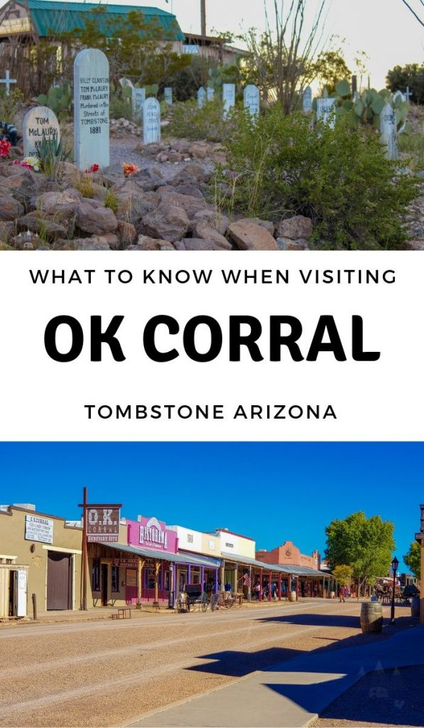 Planning a trip to the OK Corral Tombstone Arizona? Get ready for a trip back in time. Here is what you need to know and more! #okcorral #tombstone #arizon #travel #ourroaminghearts | Tombstone AZ | Arizona Travel | OK Corral | Things to know