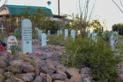 Boothill Graveyard Tombstone Arizona